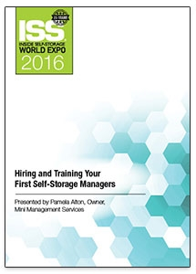 Picture of Hiring and Training Your First Self-Storage Managers