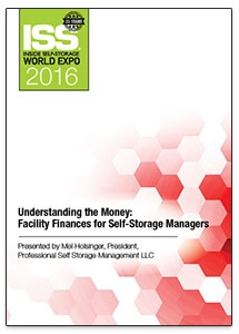 Picture of Understanding the Money: Facility Finances for Self-Storage Managers