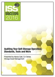 Picture of Auditing Your Self-Storage Operation: Standards, Tools and More