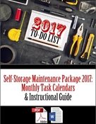 Picture of Self-Storage Maintenance Package 2017: Monthly Task Calendars and Guide