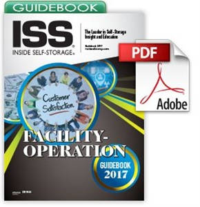 Picture of Inside Self-Storage Facility-Operation Guidebook 2017 [Digital]
