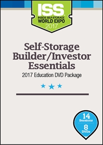 Picture of Self-Storage Builder/Investor Essentials 2017 Education DVD Package