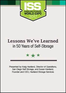 Picture of DVD - Lessons We've Learned in 50 Years of Self-Storage