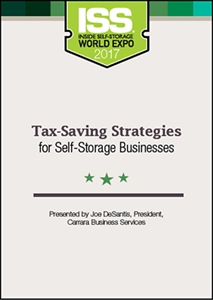 Picture of DVD - Tax-Saving Strategies for Self-Storage Businesses