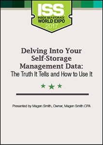Picture of DVD - Delving Into Your Self-Storage Management Data: The Truth It Tells and How to Use It