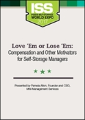 Picture of DVD - Love 'Em or Lose 'Em: Compensation and Other Motivators for Self-Storage Managers