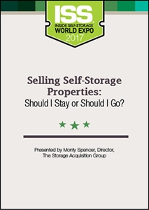 Picture of DVD - Selling Self-Storage Properties: Should I Stay or Should I Go?