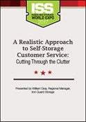 Picture of DVD - A Realistic Approach to Self-Storage Customer Service: Cutting Through the Clutter