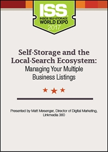 Picture of DVD - Self-Storage and the Local-Search Ecosystem: Managing Your Multiple Business Listings