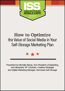 Picture of DVD - How to Optimize the Value of Social Media in Your Self-Storage Marketing Plan