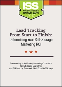 Picture of DVD - Lead Tracking From Start to Finish: Determining Your Self-Storage Marketing ROI