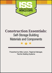 Picture of DVD - Construction Essentials: Self-Storage Building Materials and Components
