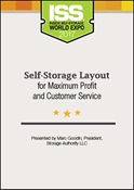 Picture of DVD - Self-Storage Layout for Maximum Profit and Customer Service