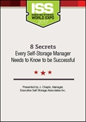 Picture of DVD - 8 Secrets Every Self-Storage Manager Needs to Know to be Successful