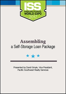 Picture of DVD - Assembling a Self-Storage Loan Package