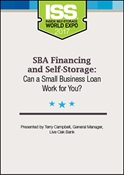 Picture of DVD - SBA Financing and Self-Storage: Can a Small Business Loan Work for You?