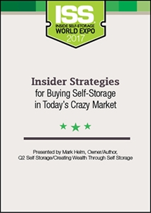 Picture of DVD - Insider Strategies for Buying Self-Storage in Today's Crazy Market