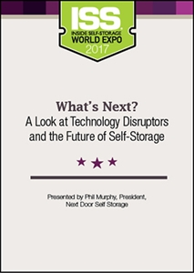 Picture of DVD - What's Next? A Look at Technology Disruptors and the Future of Self-Storage