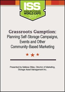 Picture of Grassroots Gumption: Planning Self-Storage Campaigns, Events and Other Community-Based Marketing