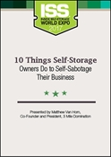 Picture of 10 Things Self-Storage Owners Do to Self-Sabotage Their Business
