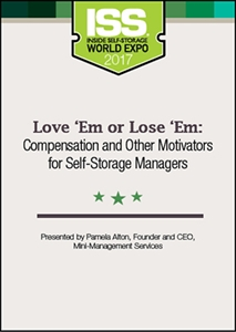 Picture of Love 'Em or Lose 'Em: Compensation and Other Motivators for Self-Storage Managers
