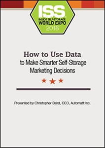 Picture of DVD - How to Use Data to Make Smarter Self-Storage Marketing Decisions
