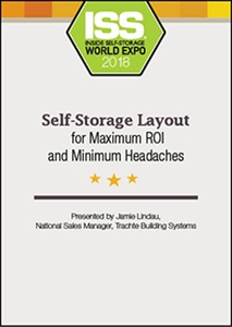 Picture of DVD - Self-Storage Site Layout for Maximum ROI and Minimum Headaches