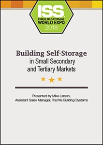 Picture of DVD - Building Self-Storage in Small Secondary and Tertiary Markets