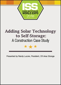 Picture of DVD - Adding Solar Technology to Self-Storage: A Construction Case Study