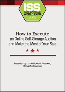 Inside Self-Storage Store  DVD - How to Execute an Online