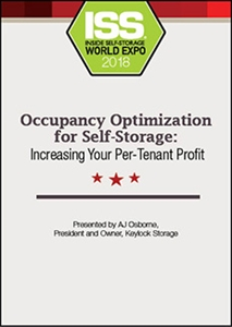 Picture of DVD - Occupancy Optimization for Self-Storage: Increasing Your Per-Tenant Profit