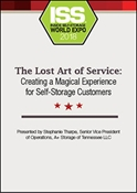 Picture of DVD - The Lost Art of Service: Creating a Magical Experience for Self-Storage Customers