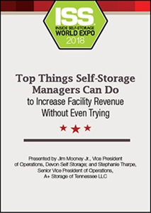 Picture of DVD - Top Things Self-Storage Managers Can Do to Increase Facility Revenue Without Even Trying