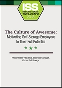 Picture of DVD - The Culture of Awesome: Motivating Self-Storage Employees to Their Full Potential