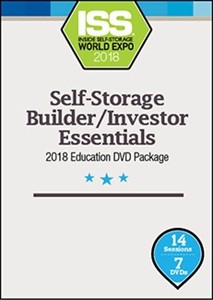 Picture of Pre-Order - Self-Storage Builder/Investor Essentials 2018 Education DVD Package