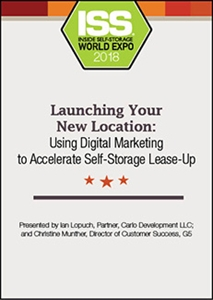Picture of DVD - Launching Your New Location: Using Digital Marketing to Accelerate Self-Storage Lease-Up