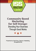 Picture of DVD - Community-Based Marketing for Self-Storage: Branding Your Business Through Good Works