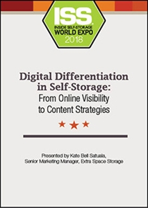 Picture of DVD - Digital Differentiation in Self-Storage: From Online Visibility to Content Strategies