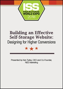 Picture of DVD - Building an Effective Self-Storage Website: Designing for Higher Conversions