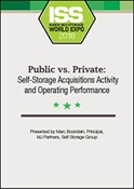 Picture of DVD - Public vs. Private: Self-Storage Acquisitions Activity and Operating Performance
