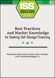 Picture of DVD - Best Practices and Market Knowledge for Seeking Self-Storage Financing