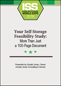 Picture of DVD - Your Self-Storage Feasibility Study: More Than Just a 100-Page Document