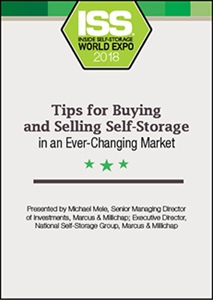Picture of DVD - Tips for Buying and Selling Self-Storage in an Ever-Changing Market