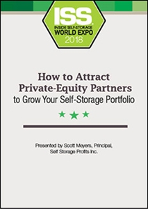 Picture of DVD - How to Attract Private-Equity Partners to Grow Your Self-Storage Portfolio