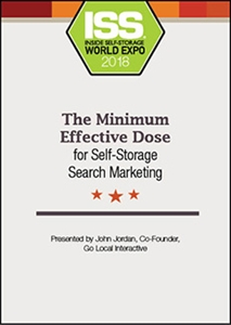Picture of The Minimum Effective Dose for Self-Storage Search Marketing