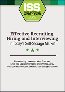 Picture of Effective Recruiting, Interviewing and Hiring in Today's Self-Storage Market