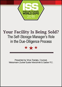 Picture of Your Facility Is Being Sold? The Self-Storage Manager's Role in the Due-Diligence Process