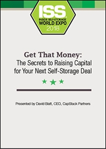 Picture of Get That Money: The Secrets to Raising Capital for Your Next Self-Storage Deal