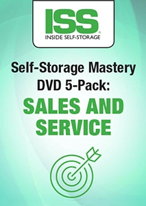 Picture of Self-Storage Mastery DVD 5-Pack: Sales and Service