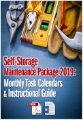 Picture of Self-Storage Maintenance Package 2019: Monthly Task Calendars and Guide